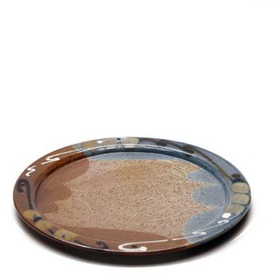 Tortenplatte mit bunter Glasur