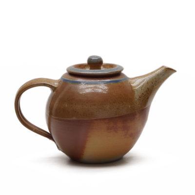 Teekanne mit Salzbrand-Glasur