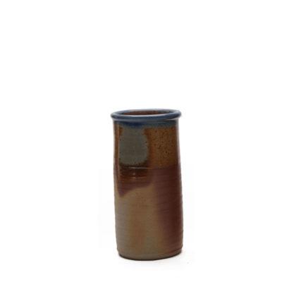 Vase mit Salzbrand-Glasur