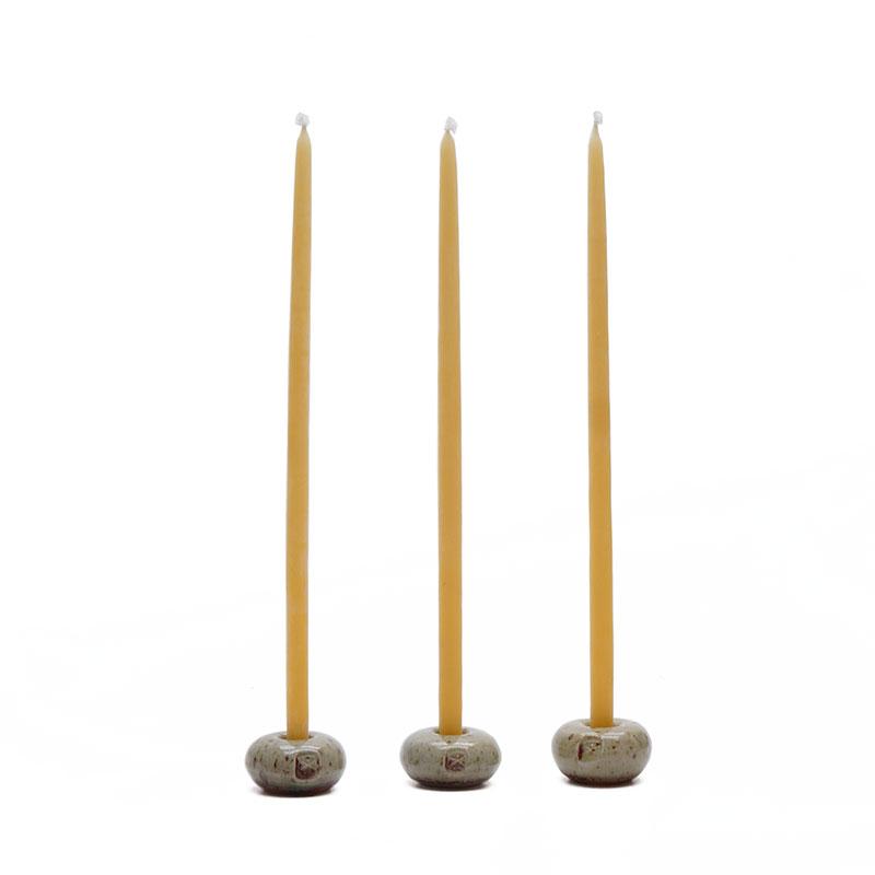 Leuchtersteine mit Kerzen