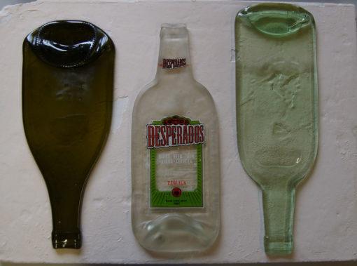 Platte Flaschen