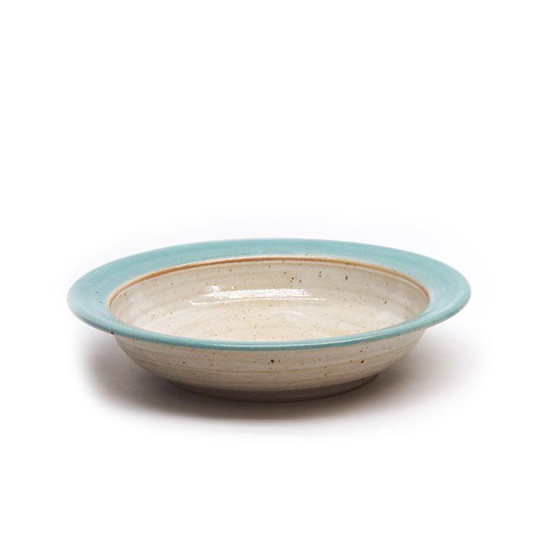 Suppenteller türkise Glasur